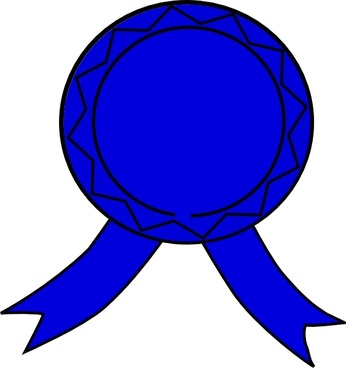 Blue Badge clip art