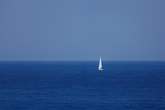 blue boat freedom