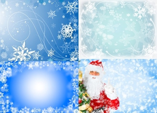 blue christmas background hd pictures