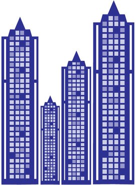blue city towers