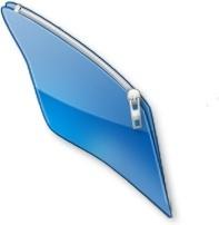 blue close folder