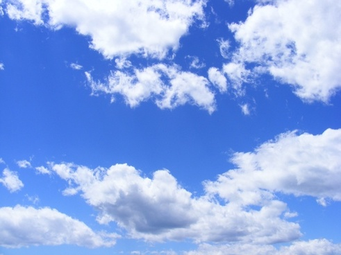 blue clouds day