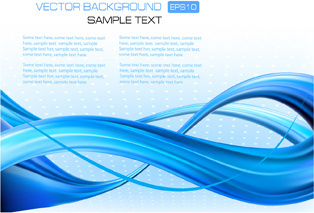 blue concept abstract vector background