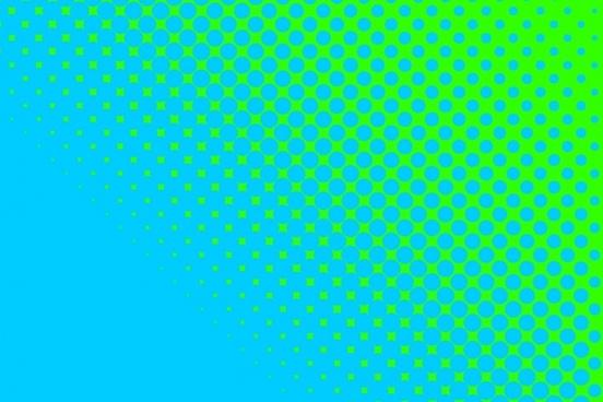 blue dots green