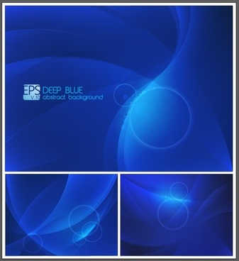 blue dream elements vector backgrounds