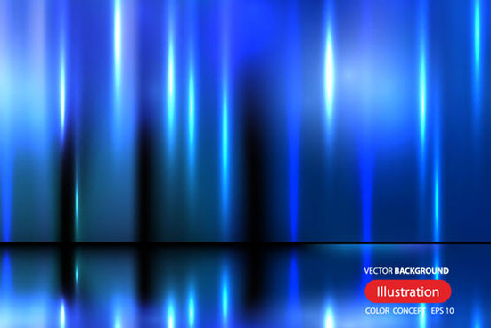 blue glow creative background vector