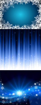 blue motion background vector