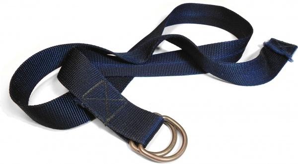 blue nylon belt