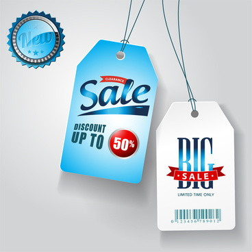blue sale tags collections
