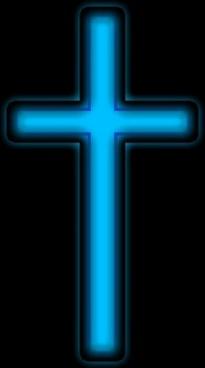 blue silver cross