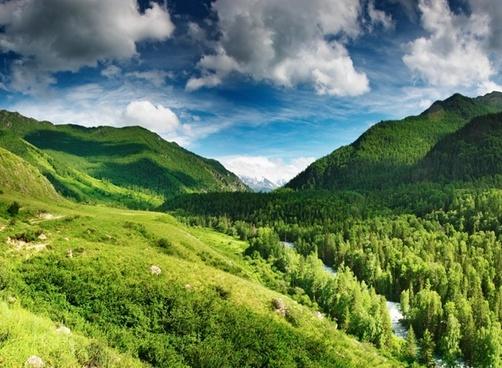 blue sky baiyunshan qiushu lin hd picture