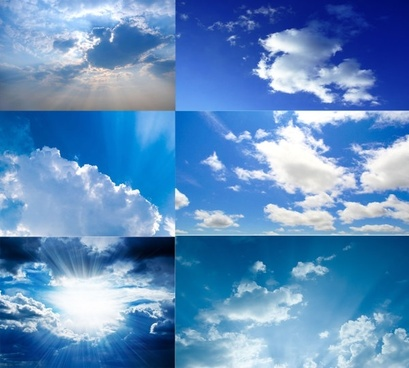 blue sky with white clouds highquality pictures