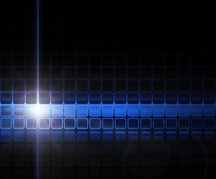 blue squares concept background vector