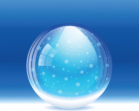 blue style snow backgrounds design vector