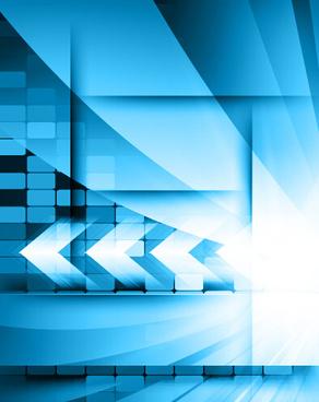 blue style tech background art vector