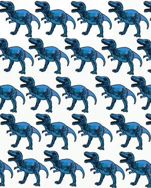 blue trex background