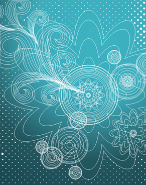blue wallpaper vector graphic