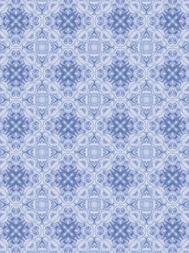 blue white shapes