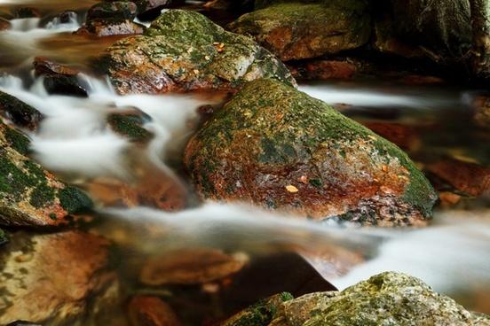 blur blurred cascade