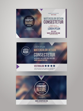 coreldraw corporate identity card templates free vector download
