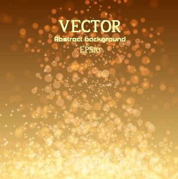 blurred lights dot colored background vector