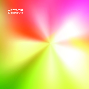 blurs colored light line vector background