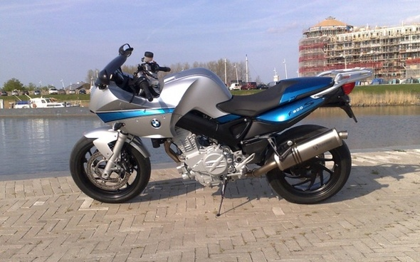 bmw f-800 motorcycle