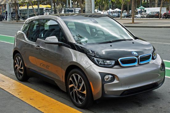 bmw i3 electric car embarcadero san francisco