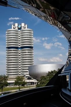 bmw world bmw tower munich
