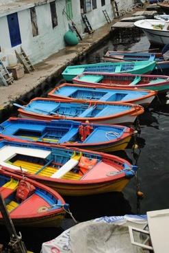 boat colorful color