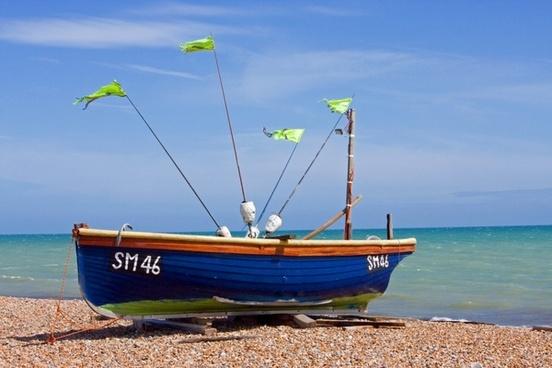 boat fishing boat wooden