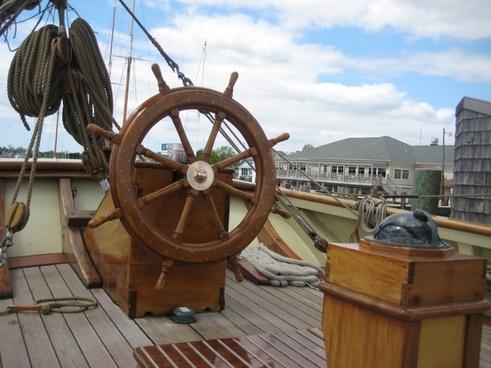boat ship wheel