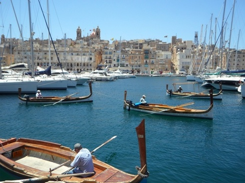 boats port valetta