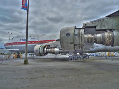 boeing 747 prototype
