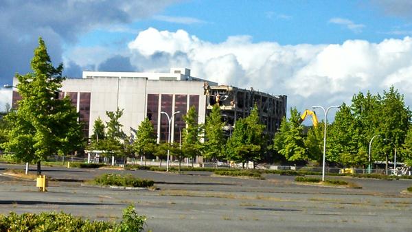 boeing building demolition