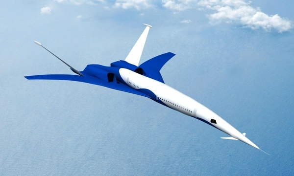 boeing supersonic aircraft jet