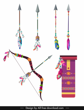 boho icons colorful classic feather decor