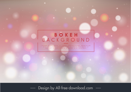 bokeh background colored sparkling blurred light effect