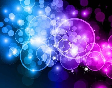 Bokeh Circles Abstract Background