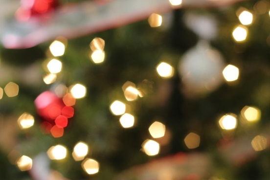 bokeh of christmas tree lights 038 ornaments