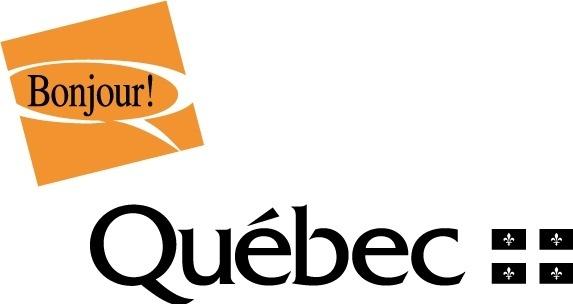 Bonjour Quebec logo
