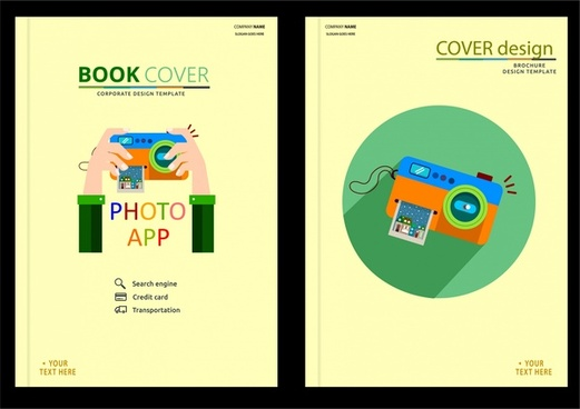 book cover page design free vector download 7 818 free vector for