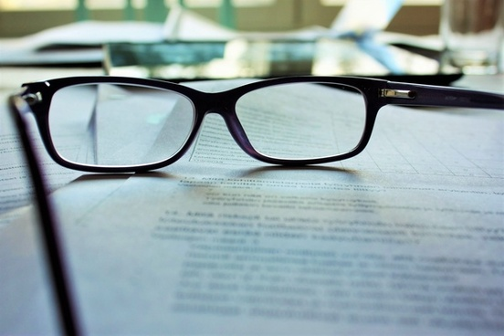 book desk document eyeglasses eyesight eyewear lens