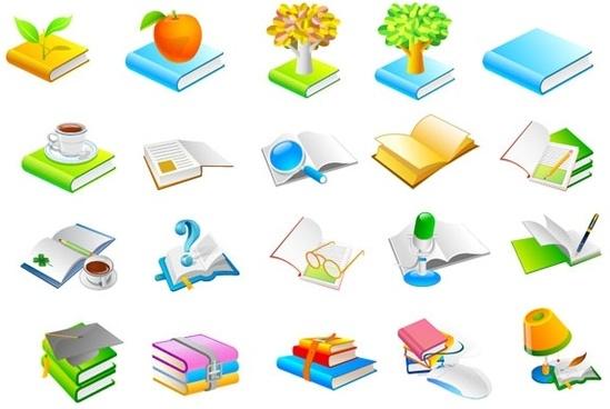 book series six icon vector