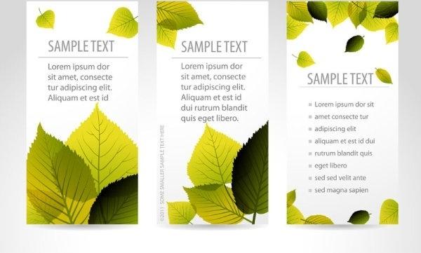 bookmark beautiful maple 01 vector