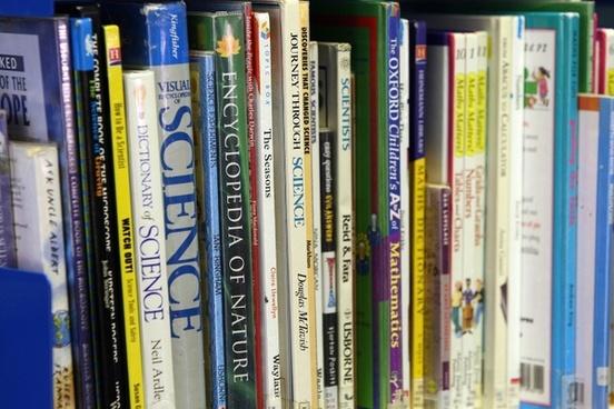 books library shelf