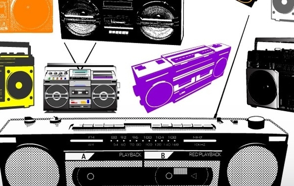 Boombox Free Vector Download 16 Free Vector For
