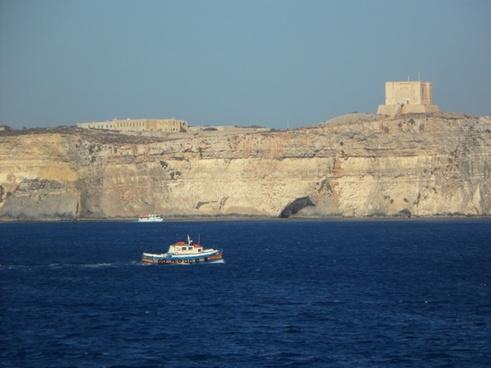 boot cliff mediterranean