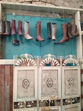 boots shoes garden