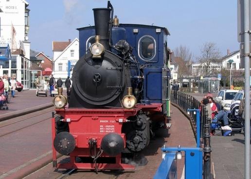 borkum steam locomotive locomotive